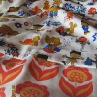Magic Roundabout Vintage material