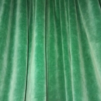 CURTAIN QUALITY = CURTAIN LONGEVITY, WWII CURTAINS STILL IN USE